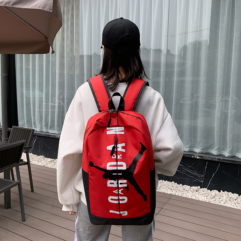 2020 Red Black White Air Jordan Backpack