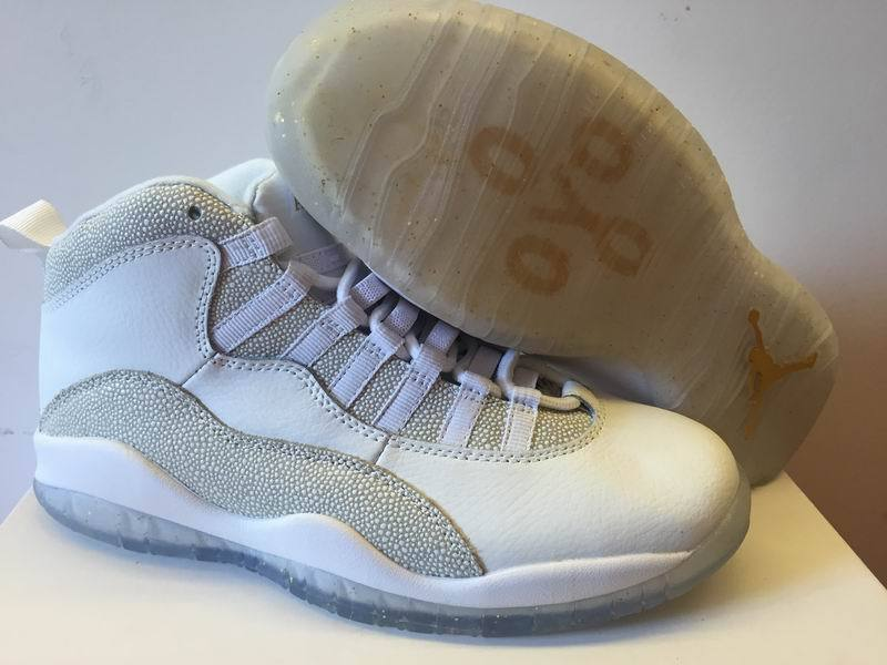 2016 Air Jordan 10 OVO White Shoes