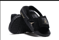 Air Jordan 12 Black White Slipper For Toddler