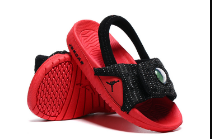 Air Jordan 13 Red Black Slipper For Toddler