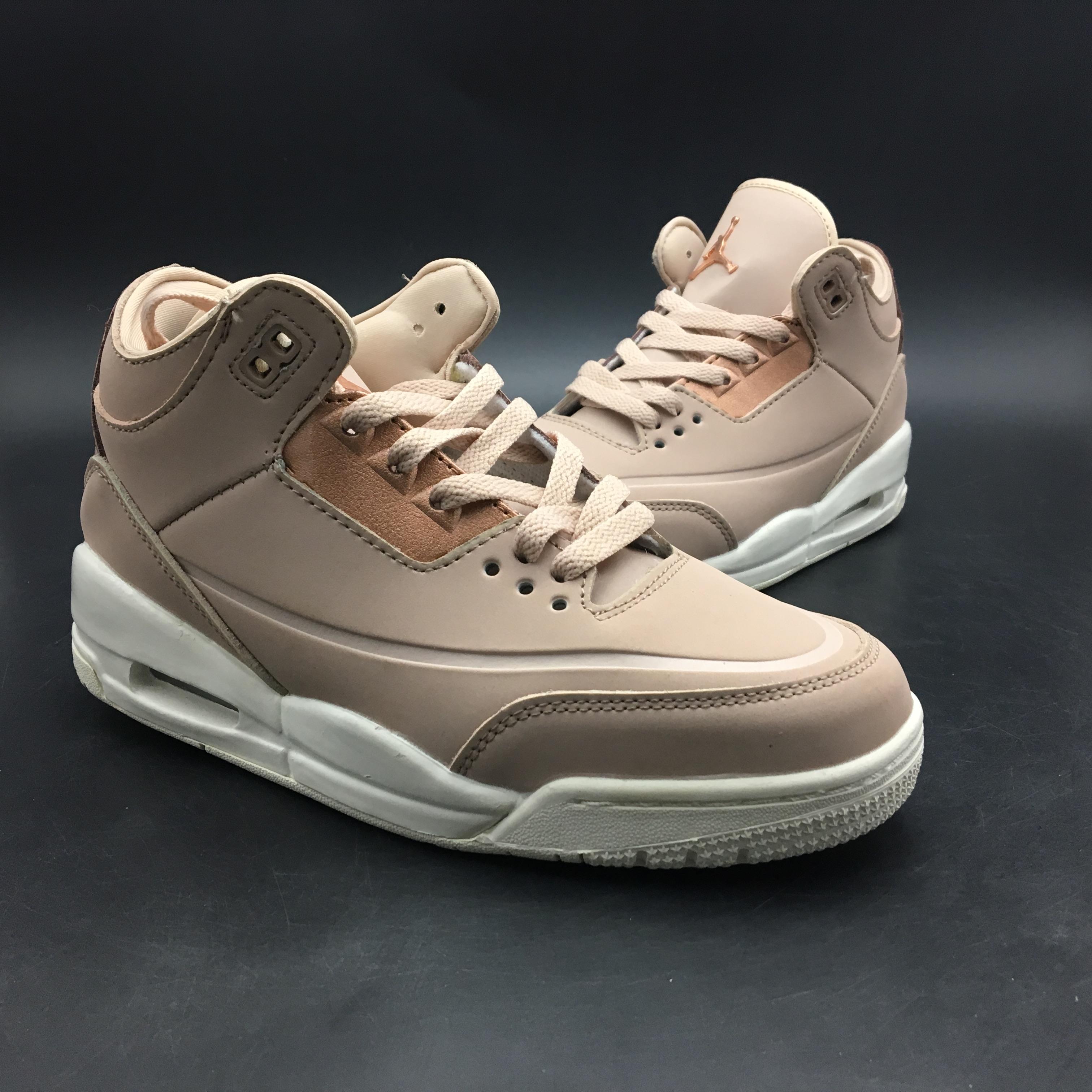 best website af23e 06da4 Air Jordan 3 SE Rose Gold For Women