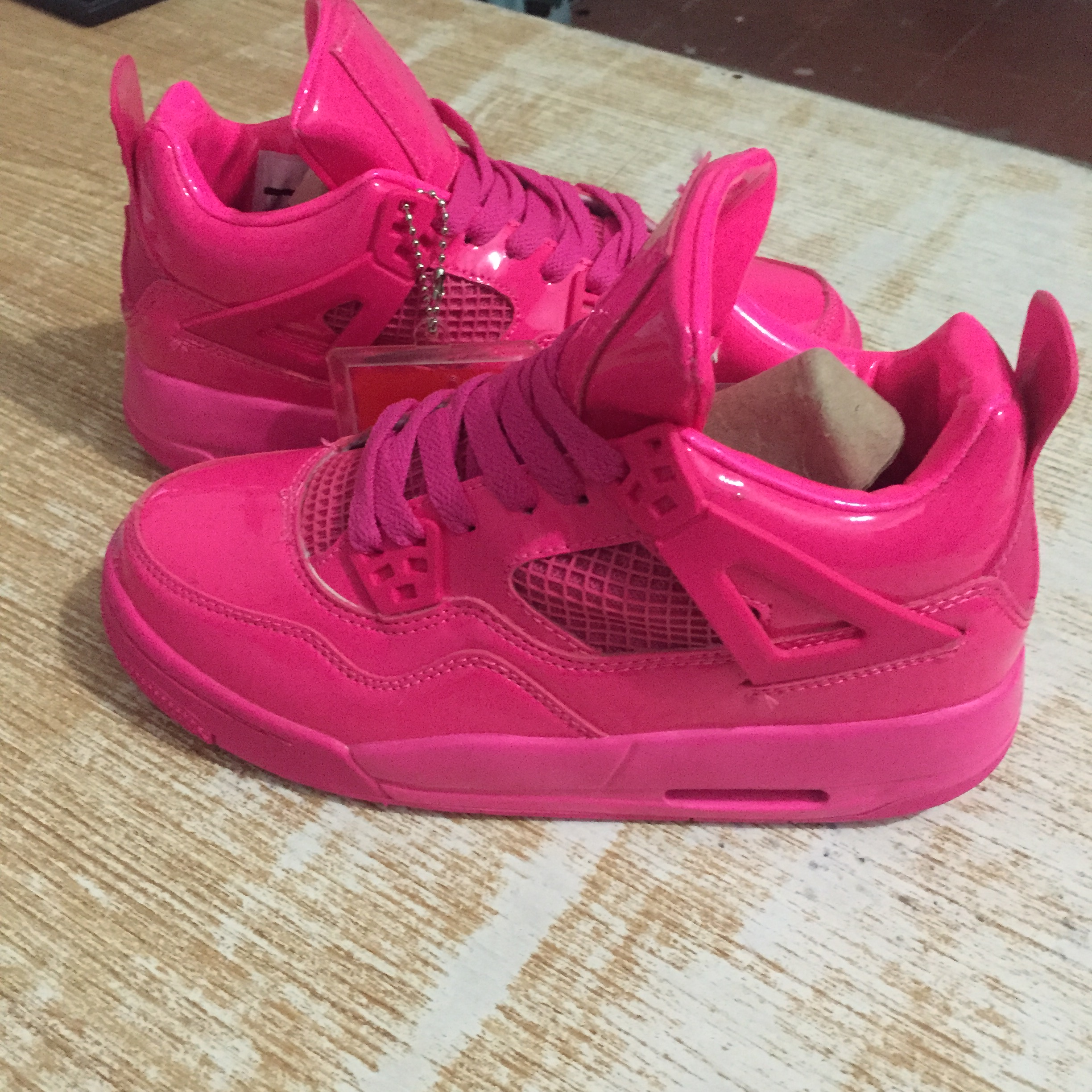 cba7a9d9a46add Air Jordan 4 All Red Valentine s Day Shoes
