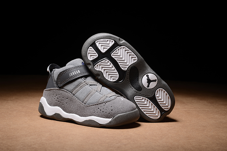 Air Jordan 6 Rings GreyShoes For Toddler