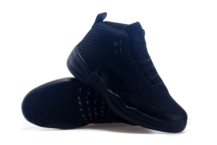 Air Jordan 12 Future All Black Shoes