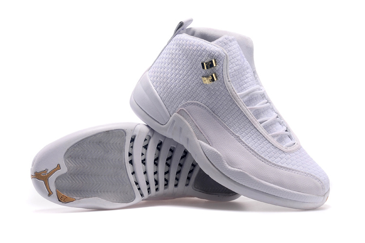 Air Jordan 12 Future All White Shoes