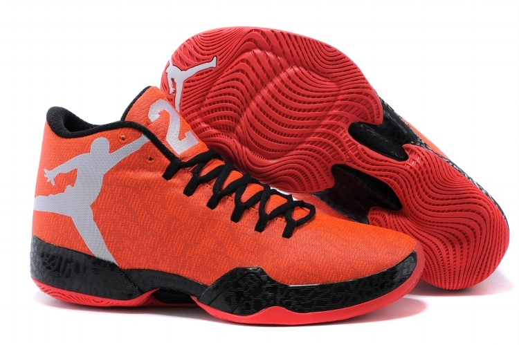 Air Jordan 29 Orange Black Basketball Shoes
