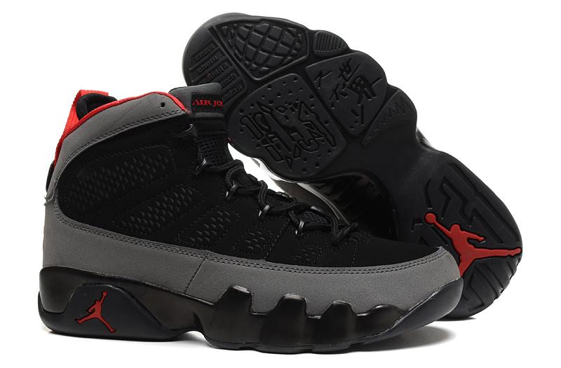 2af703c41e0 Air Jordan 9 Retro Black Grey with Number 23