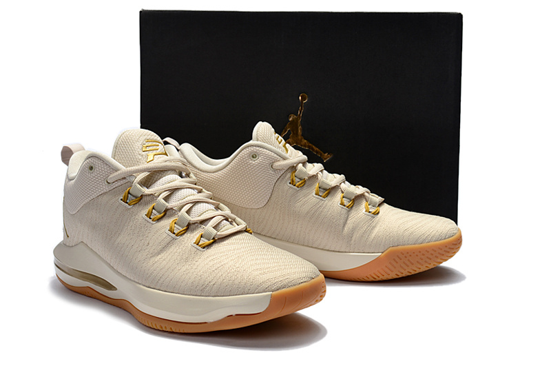 Air Jordan CP3 10 Elite Beige Shoes