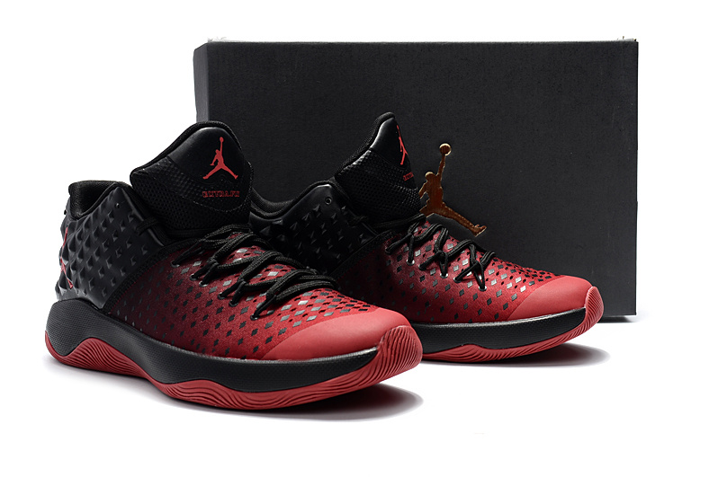 Air Jordan Extra.Fly Red Black Basketball Shoes