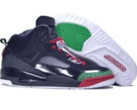 Air Jordan Spizike Black Red Green Shoes