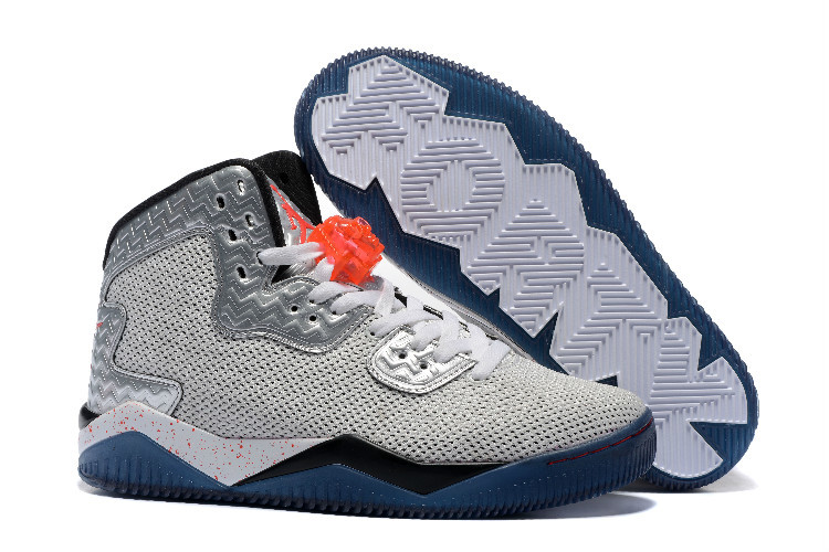 Air Jordan Spizike II Grey Silver Shoes