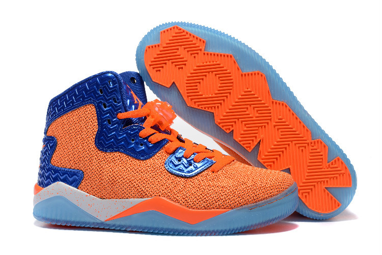 Air Jordan Spizike II Orange Blue Shoes