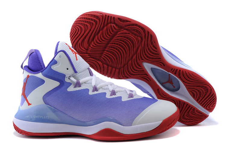 Air Jordan Super.Fly 3 X Blue White Red Shoes