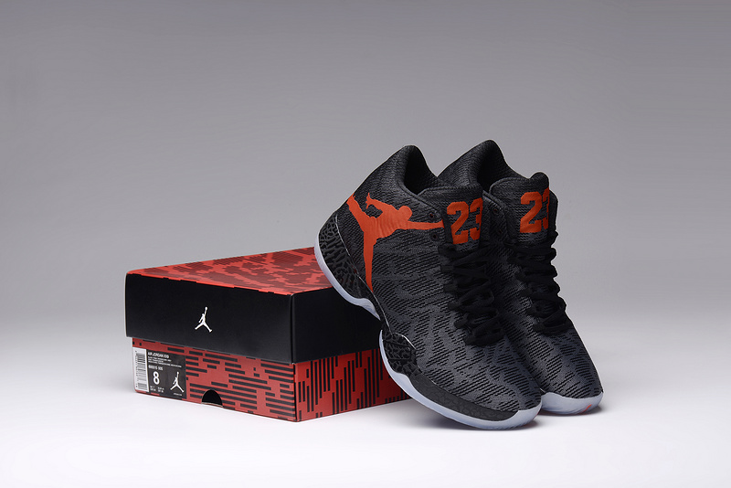 Air Jordan XX9 Black Orange Lovers Shoes