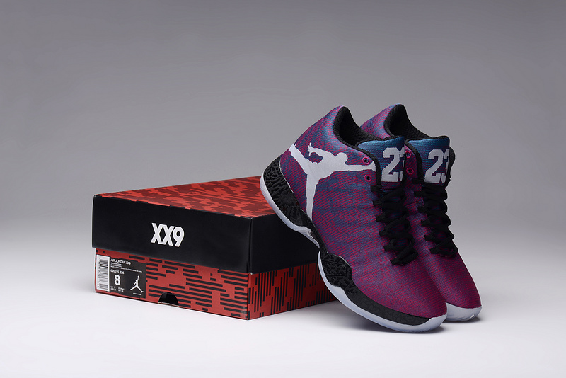 Air Jordan XX9 Purple Black Lovers Shoes