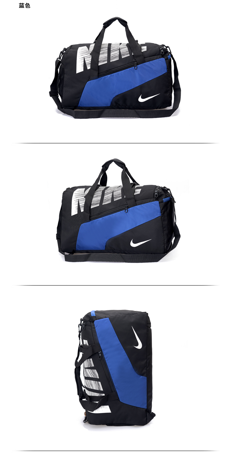 Blue Black White Nike Handbag