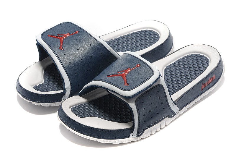 Blue White Red Jordan 2 Massage Sandal