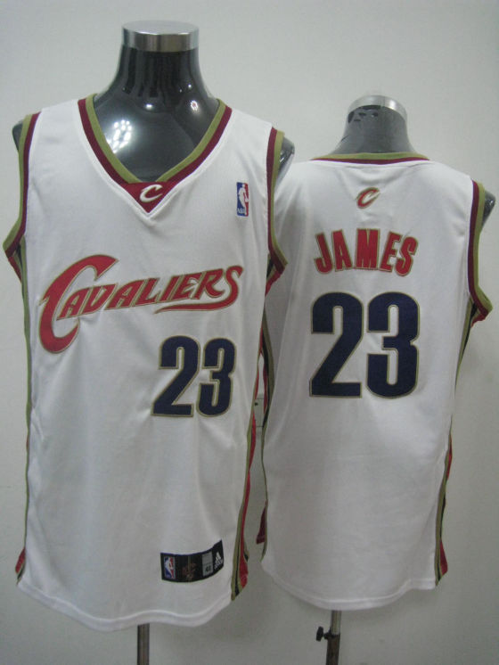 Cleveland Cavaliers James White Red Black Jersey