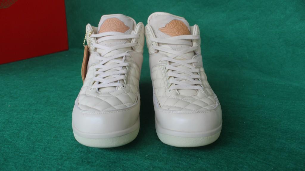 21217797c2a8fa Men Don C x New Air Jordan 2 Beach All White Shoes