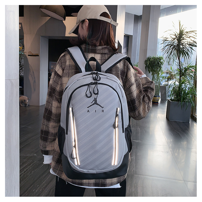 Grey Black 3M Jordan Backpack 2020
