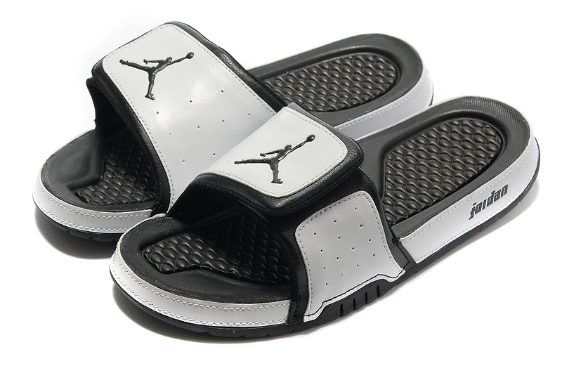 Grey Black Jordan 2 Massage Sandal