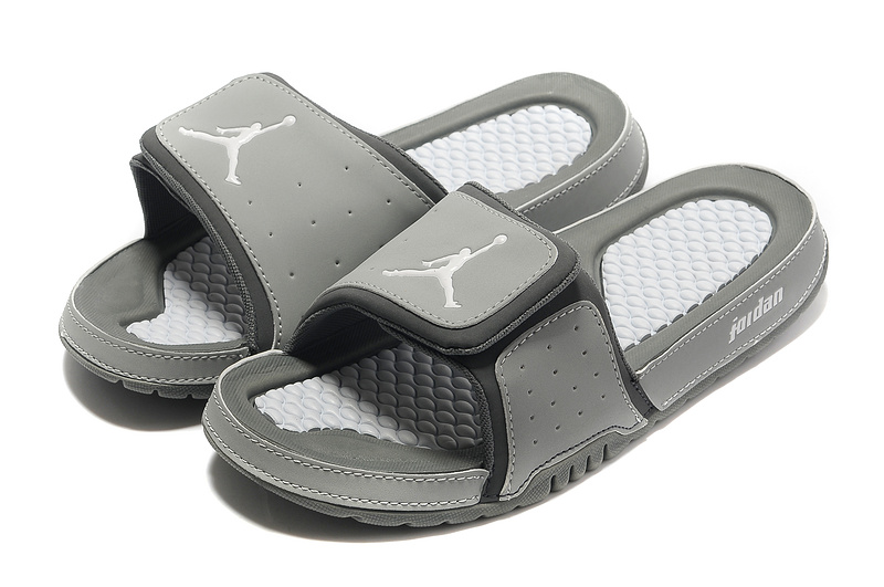 Grey Jordan 2 Massage Sandal