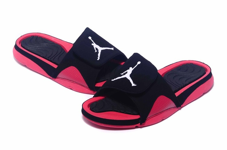 Jordan Hydro IV Retro Black Red Sandal