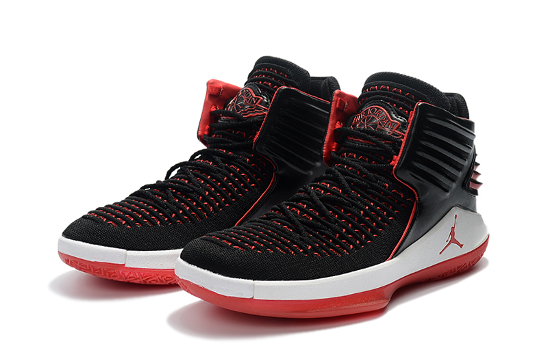 Air Jordan 32 Black Red White Shoes