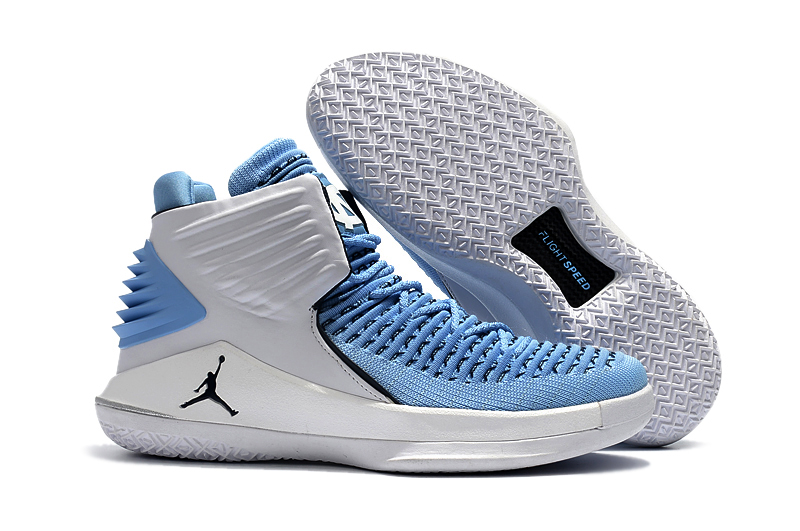 Air Jordan 32 North Carolina Blue Shoes