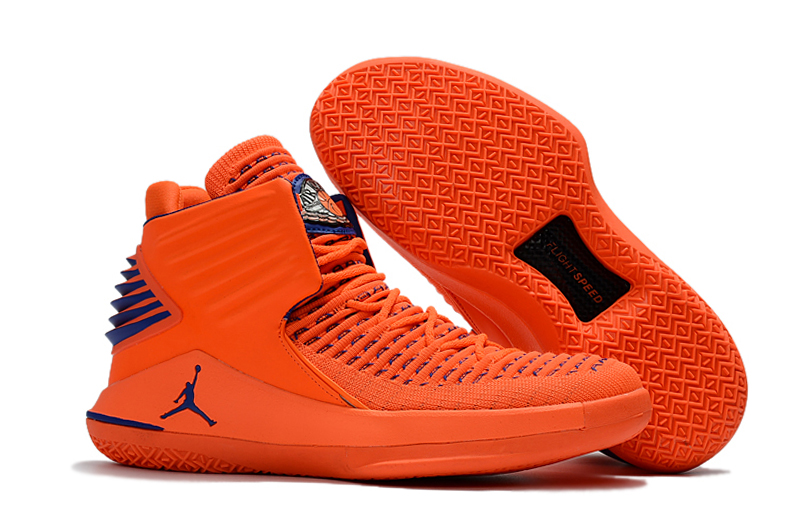 Air Jordan 32 Orange Red Blue Shoes