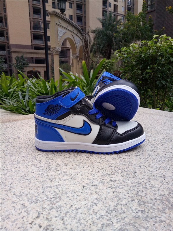 air jordan 1 blue and white kids