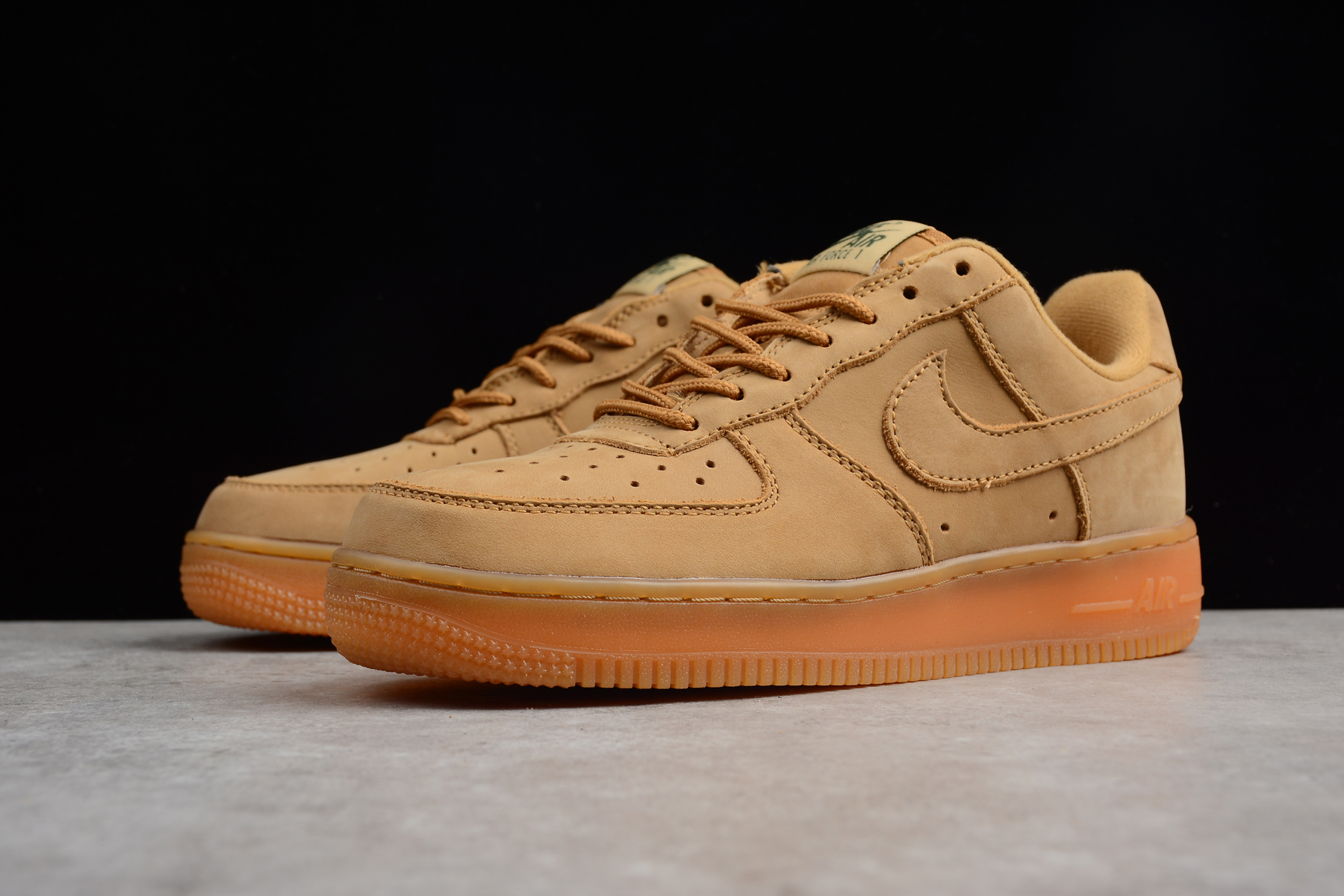 Latest Nike WMNS Air Force 1 Low Wheat Flax Flax