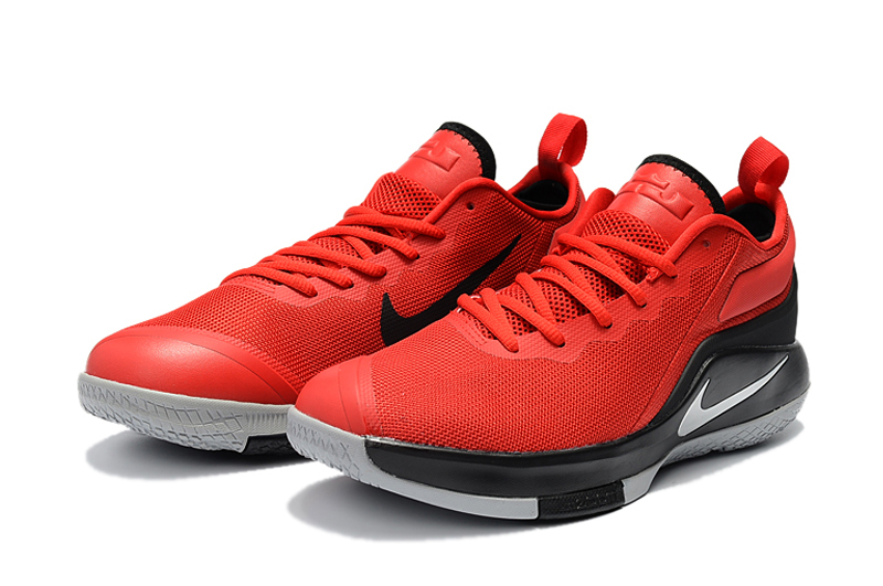 New Nike LeBron Wintness 2 Red Black Basketball Shoes