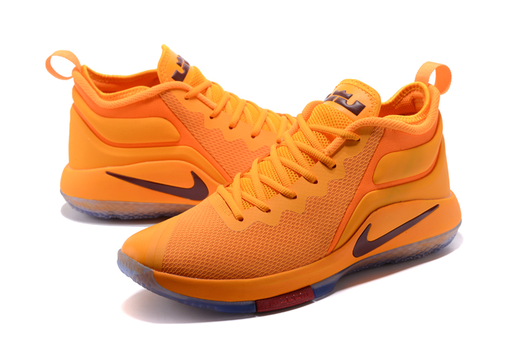 New Nike LeBron Wintness CAVS Yellow Basketball Shoes