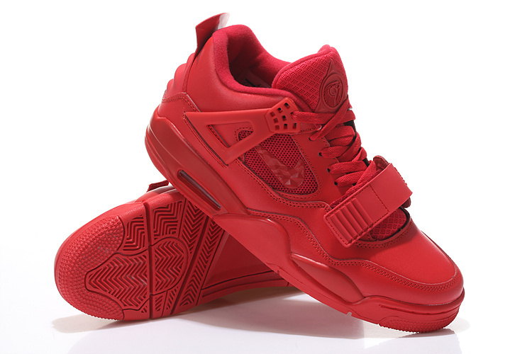 Limited Air Jordan 4 Retro Chinese Red Shoes