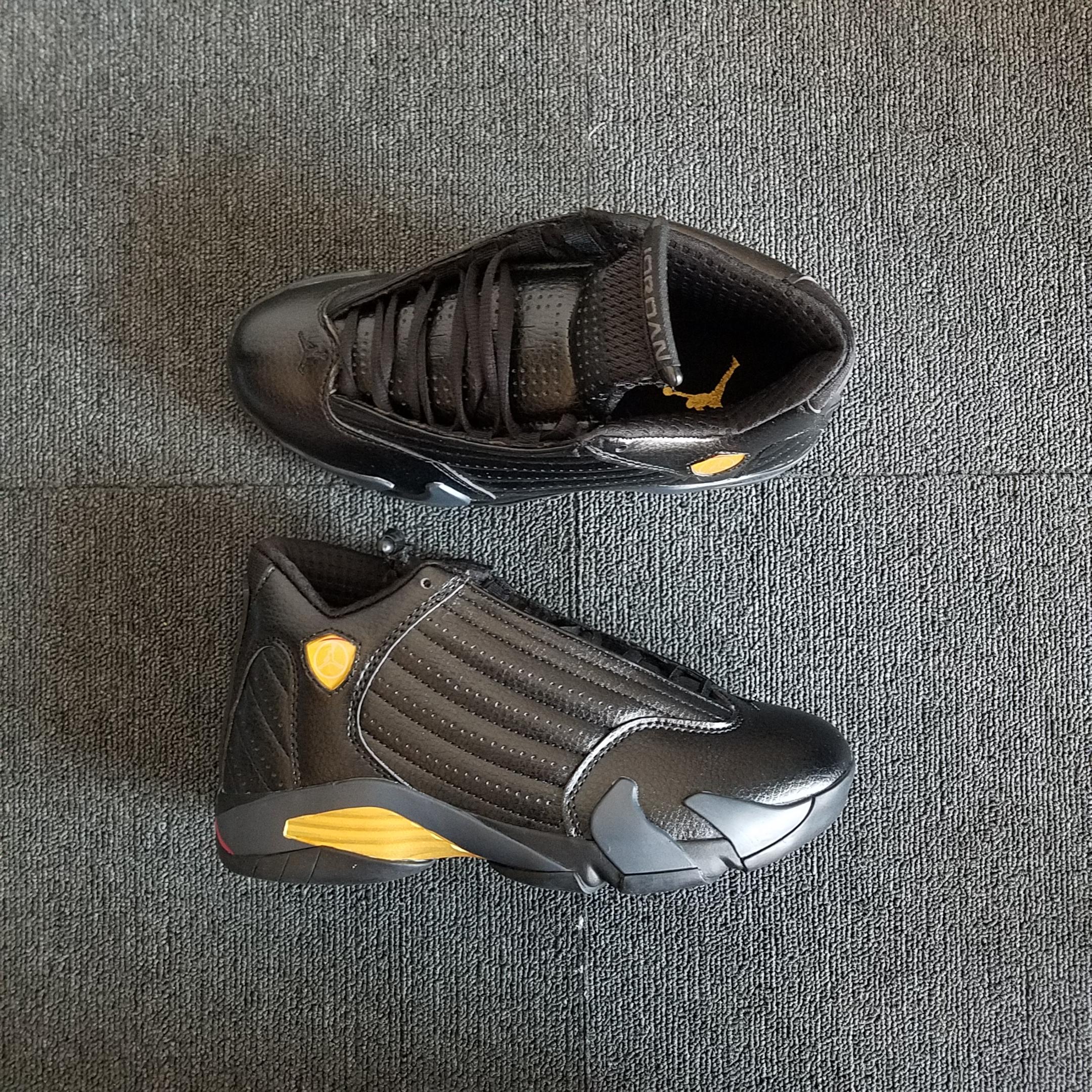 best sneakers 2aa04 4f990 Air Jordan 14 Black Gold Shoes