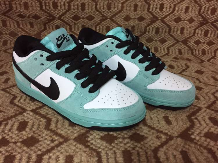 NIIE DUNK SB Low Jade Blue Black 819674 301 Shoes