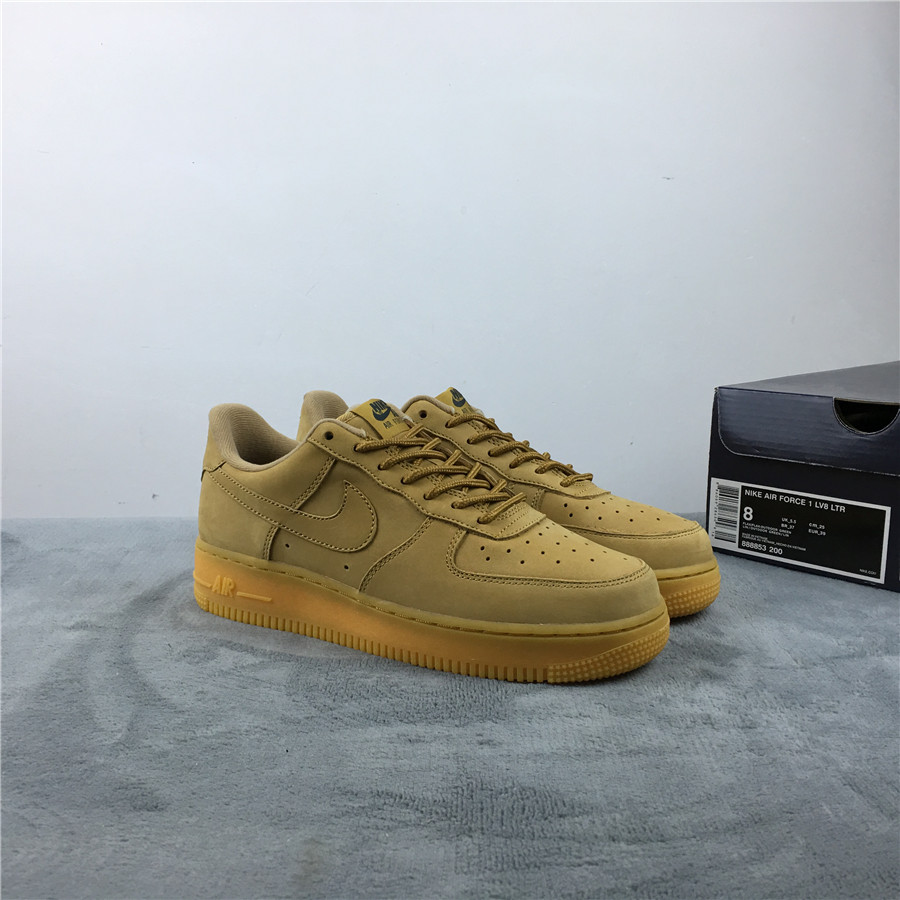 Nike Air Force 1 High Wheat Shoes For Women