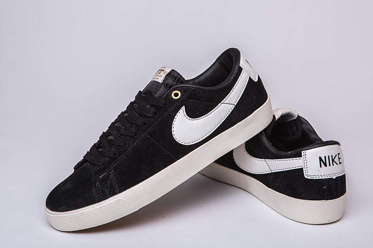 Women Nike Air SB Zoom Low GT Black White Shoes