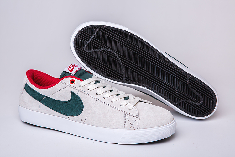 Women Nike Air SB Zoom Low GT White Green Red Shoes