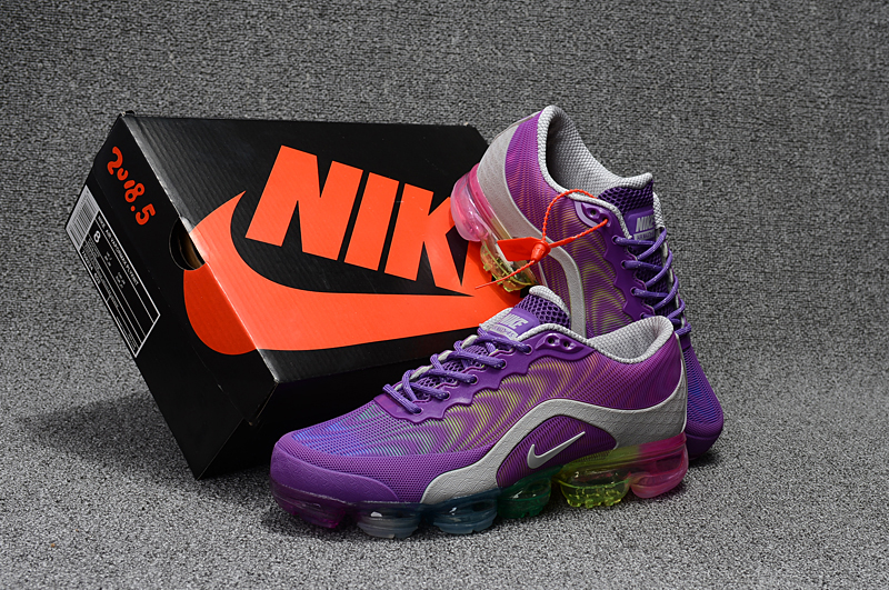 Nike Air VaporMax 2018 5 Purple Silver Shoes