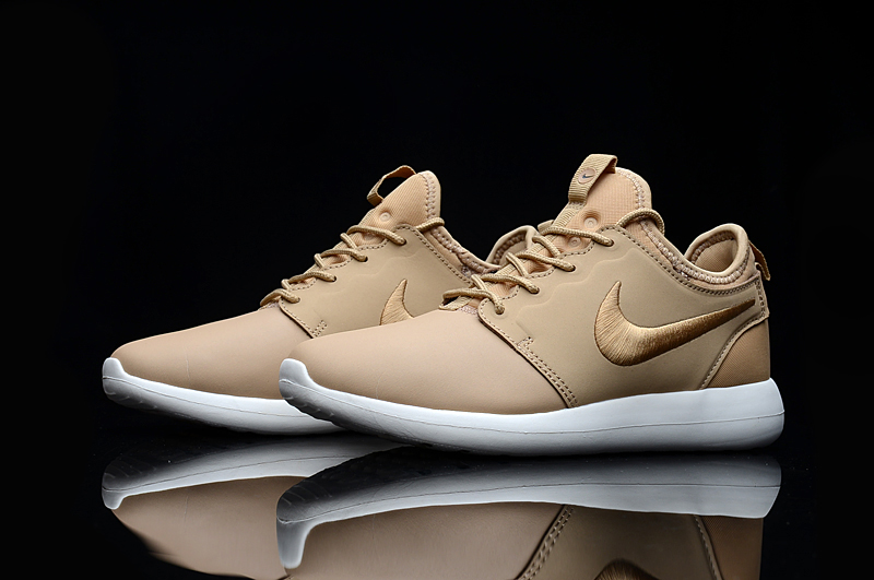 Nike Roshe 2 Leather PRM Yellow Shoes