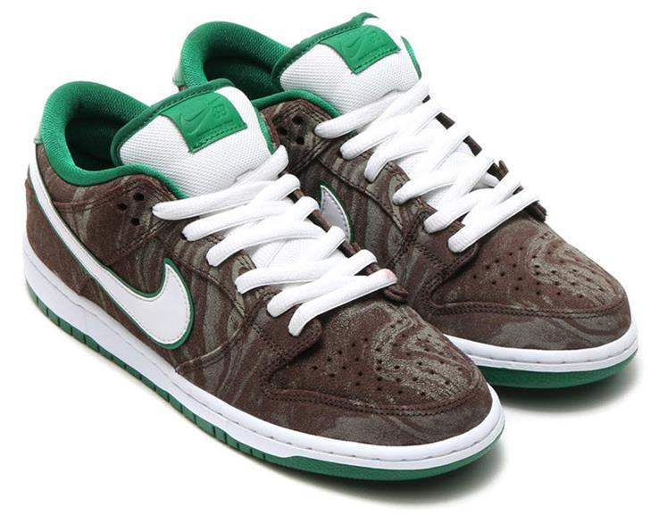 SB Dunk Low PREM Starbucks 313170 213 Shoes