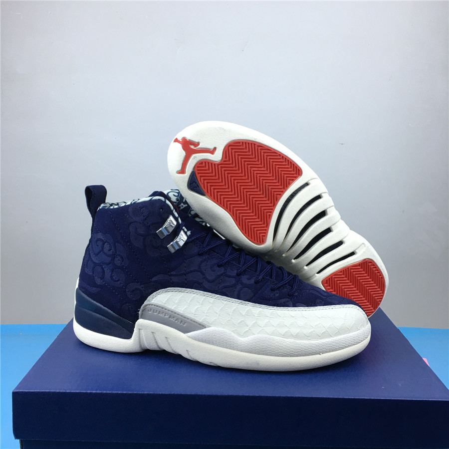 Men Air Jordan 12 International Flight Shoes