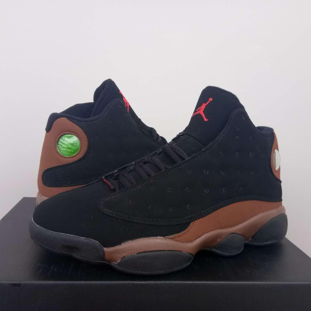newest 9b9d6 47fed Men Air Jordan 13 Black Tan Shoes [18women52214] - $92.00 ...