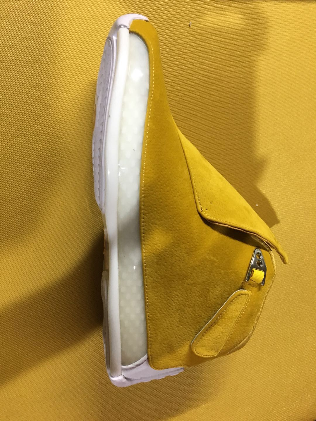Men Air Jordan 18 Retro Yellow White
