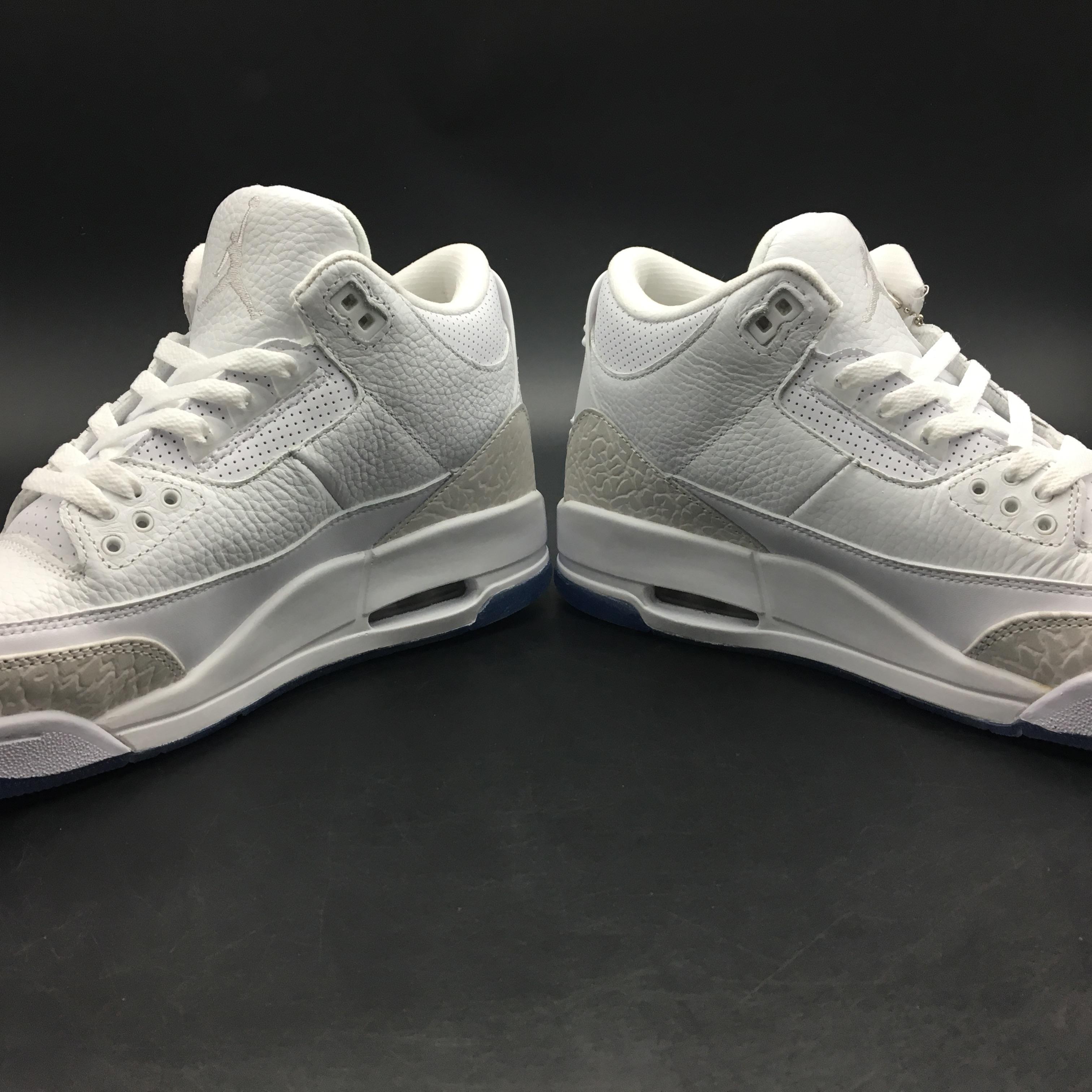 newest ca32d 80382 Men Air Jordan 3 Pure White Shoes [18women51903] - $93.00 ...