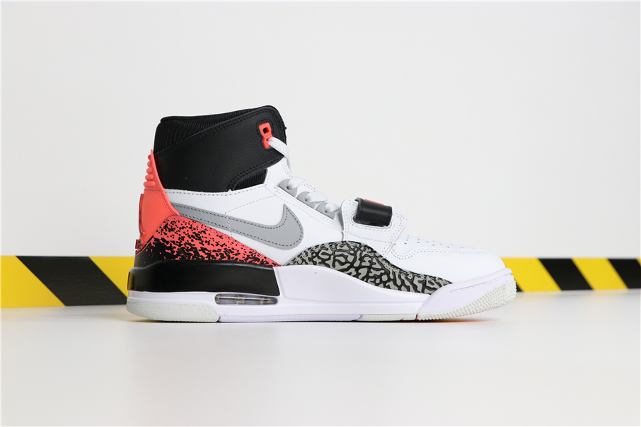 Men Don C x Jordan Legacy 312 Air Tech Challenge White Black Orange Shoes