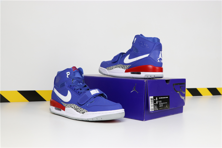 Men Don C x Jordan Legacy 312 Knicks Royal Blue