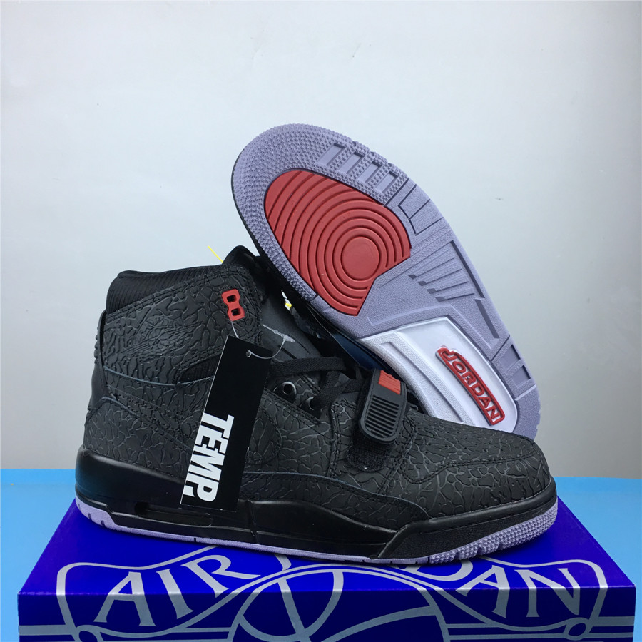 Men Jordan Legacy 312 All Black Shoes